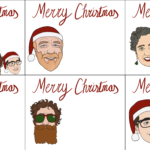 Example of Personalised Christmas tags